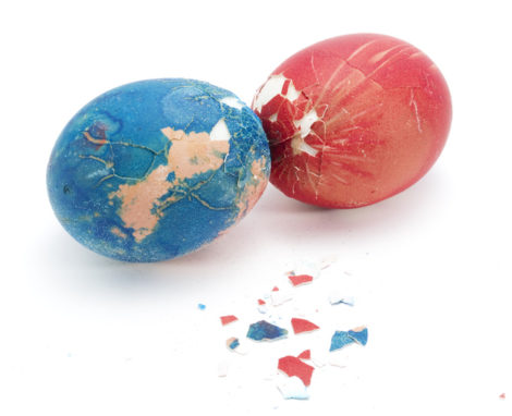 Goodbye Easter Bunny. Hello Eggs.