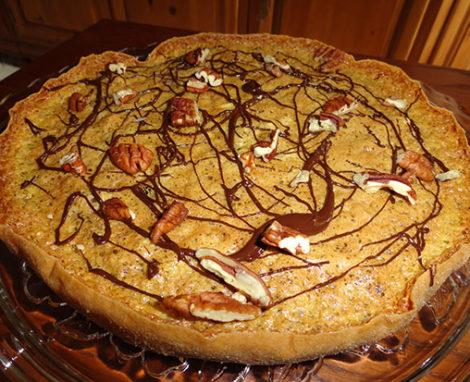 Apple Meringue Torte