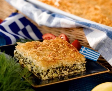 Greece's Cherished Spanokopita