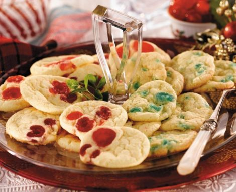 Slice & Bake Holiday Cookies