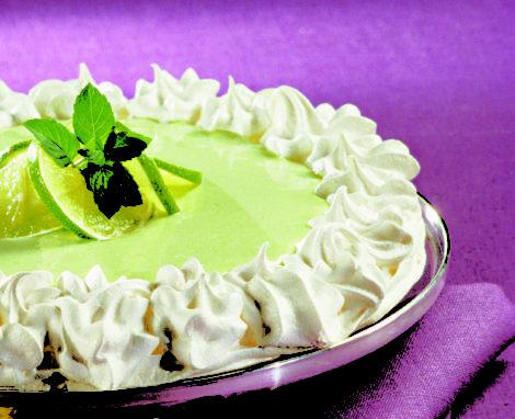 Key Lime Angel Pie