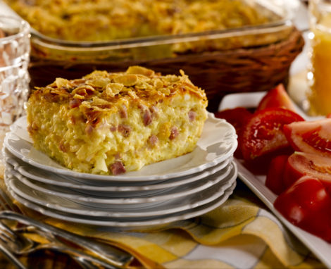 Layered Brunch Casserole