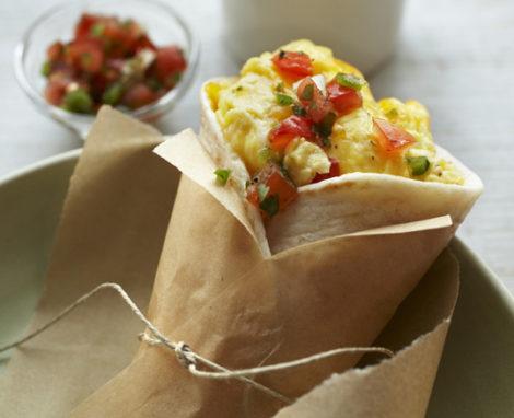 Microwave Egg & Cheese Burrito