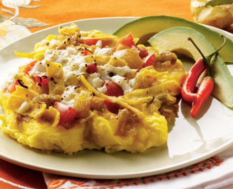 Migas Scrambled Eggs & Tortillas