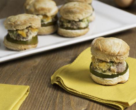 Mini Frittata Sandwiches