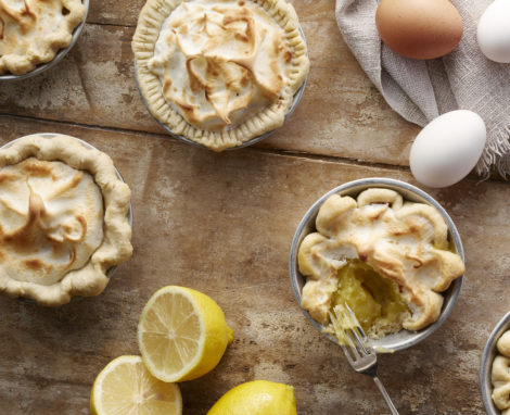 Mini-Lemon Meringue Pies