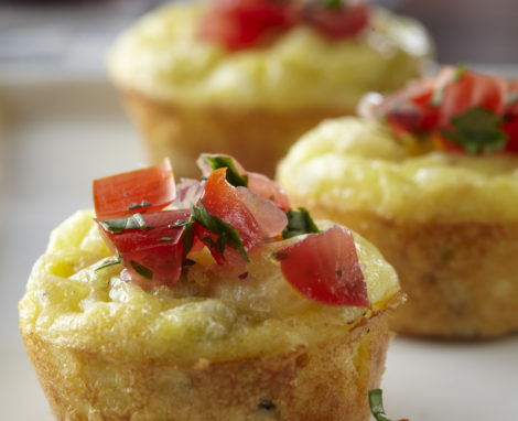 Mini Pepper Jack Quiche