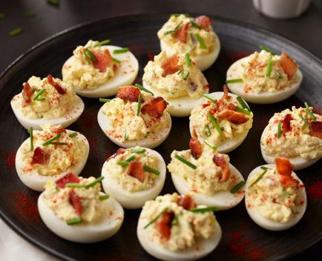 Sister Mary's Heavenly Deviled Eggs