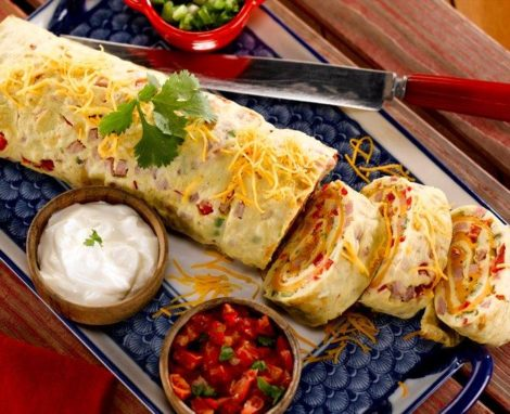 Southwestern Omelet Roll