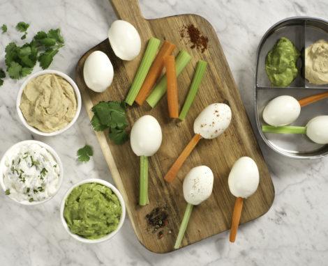 Veggie Egg Pops