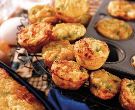 Broccoli Cornbread Bites