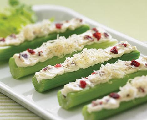 Celery Cheese Swirls