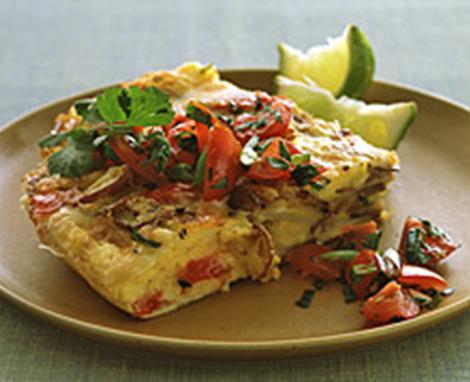 Mexican Potato Omelet