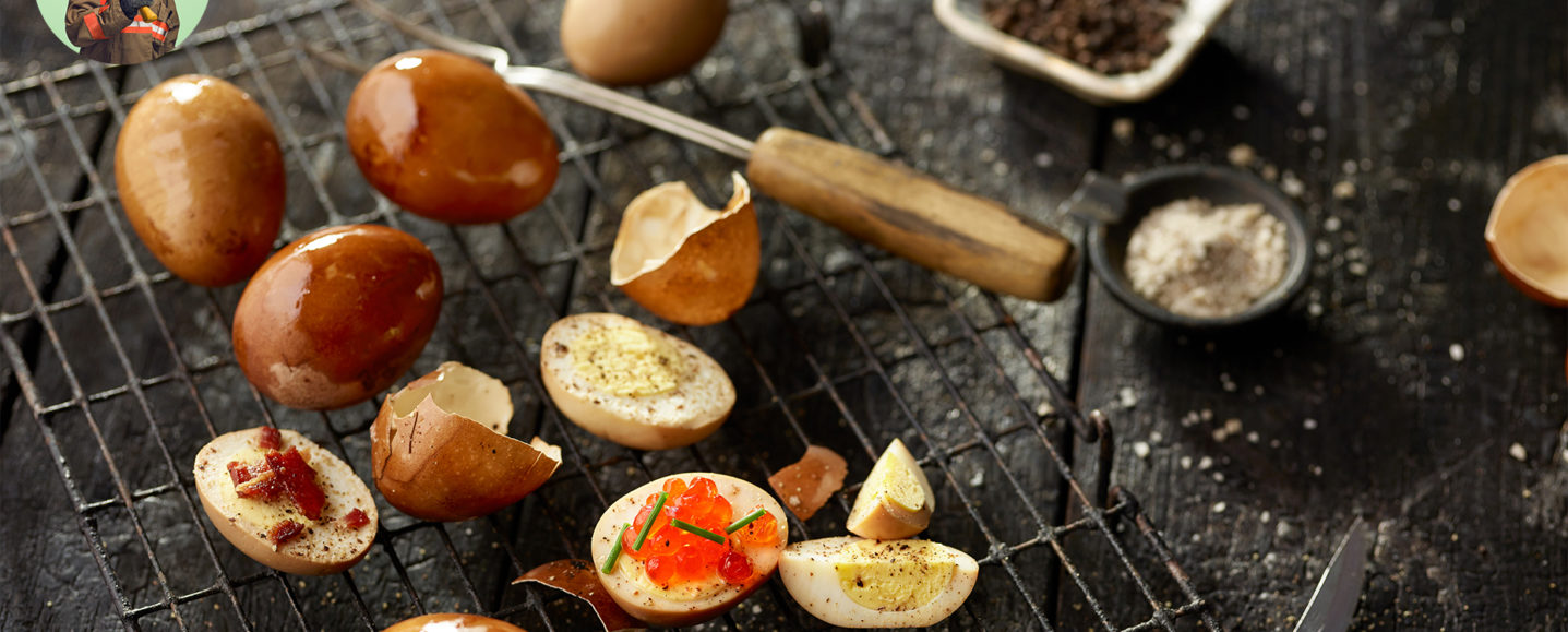 FIREFIGHTER'S SMOKED HARD-BOILED EGGS