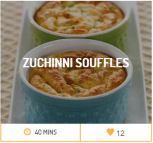 Zucchini Souffles