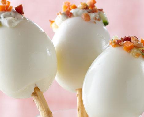 Hard-Boiled EggPops
