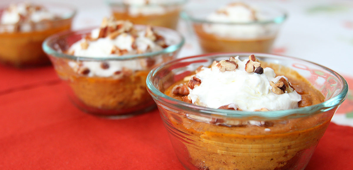 pumpkin protein pudding by nc egg