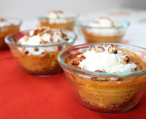 Pumpkin Protein Pudding