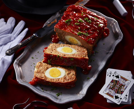 Presto's Surprising Egg Meatloaf