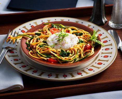 Tubemans Noodle Zoodle Egg Bowl
