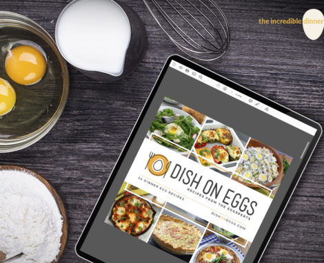 Dish on Eggs Cookbook