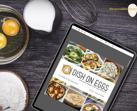 Dish on Eggs Cookbook