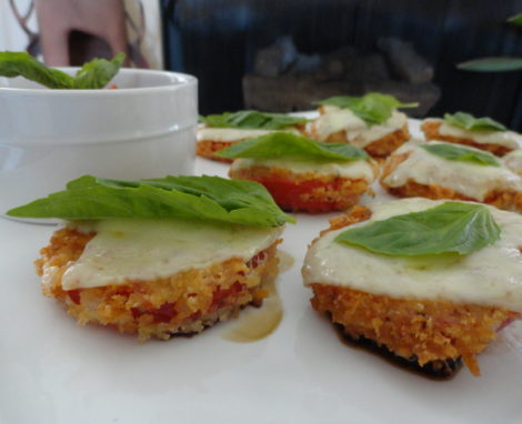 Crispy Tomato with Marinara