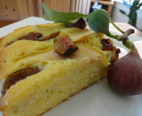Fig and Apple Sheet Cake
