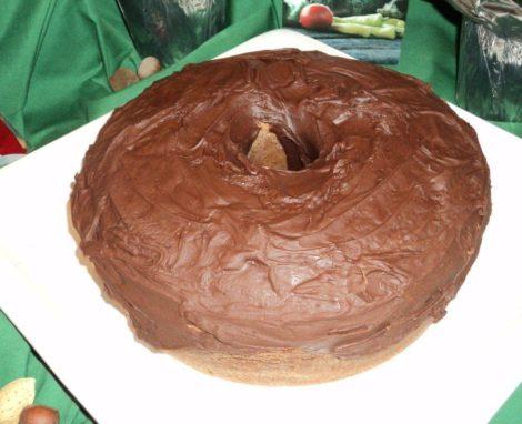 German Chocolate Pound Cake