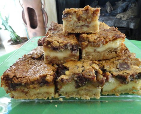 """Hidden Treasures"" Pecan Bars"