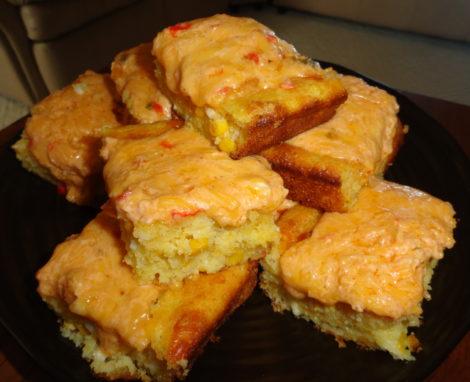 Jalapeno Pimento Cheese Cornbread