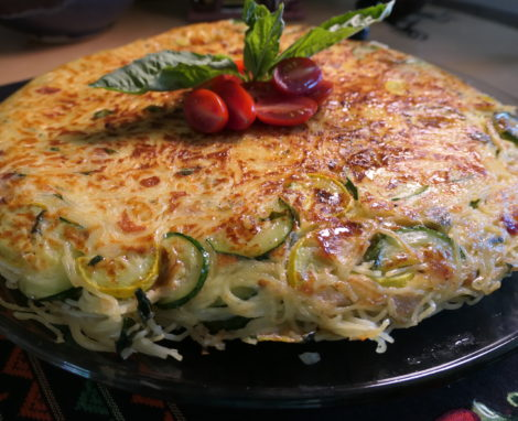 Skillet Pasta with Squash and Zucchini