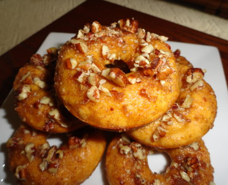 Sweet Potato Pie Doughnuts