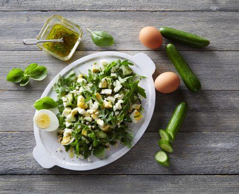 Fresh Arugula and Couscous Salad