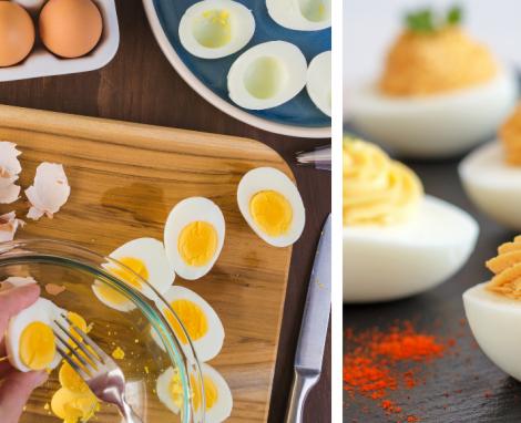 "NC Egg Farming & ""Piled High"" Deviled Eggs"