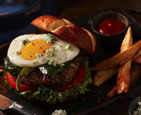 Blazing Poblano Burger