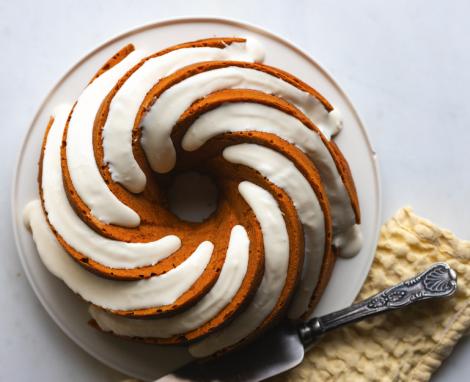 Brown Butter Pumpkin Spice Bundt Cake