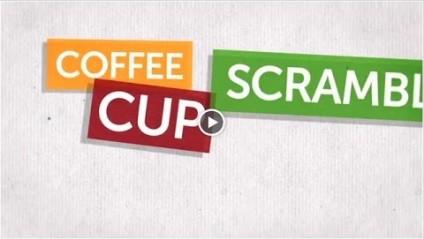 Coffee Cup Scramble