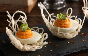 Eye Popping Deviled Eggs