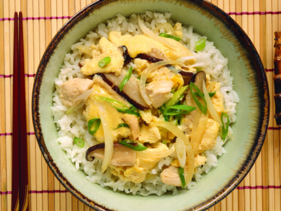 Asian Chicken & Egg Rice Bowl