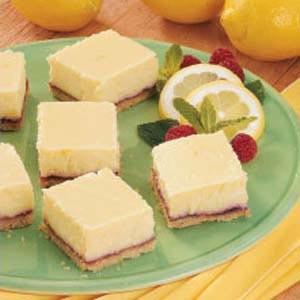 NC Egg dessert - Cheesecake Squares