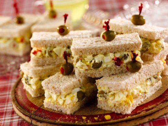 Confetti Egg Salad Sandwiches
