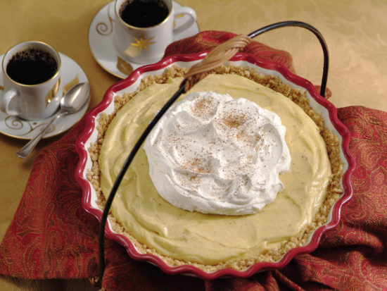 Egg Nog Pie