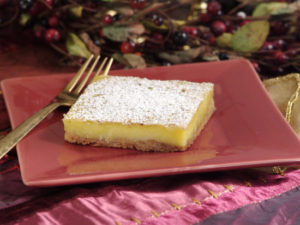 Egg Nog Squares Recipe_From NC Egg