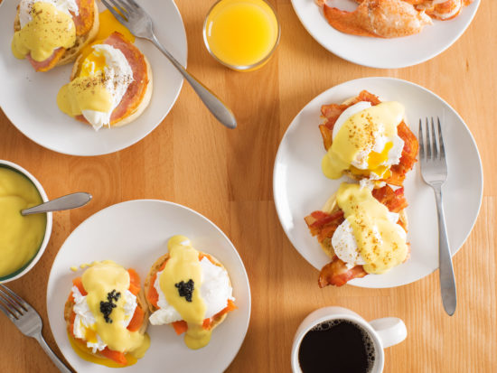 Eggs Benedict Breakfast Bar