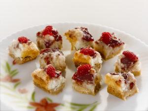 NC Egg dessert - Raspberry Coconut Bites