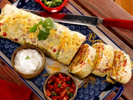 Southwestern Omelet Roll - NC Egg Association - NC Egg Association