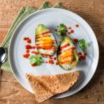 sriracha baked avocado eggs_nc egg