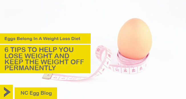 Eggs Belong In A Weight Loss Diet